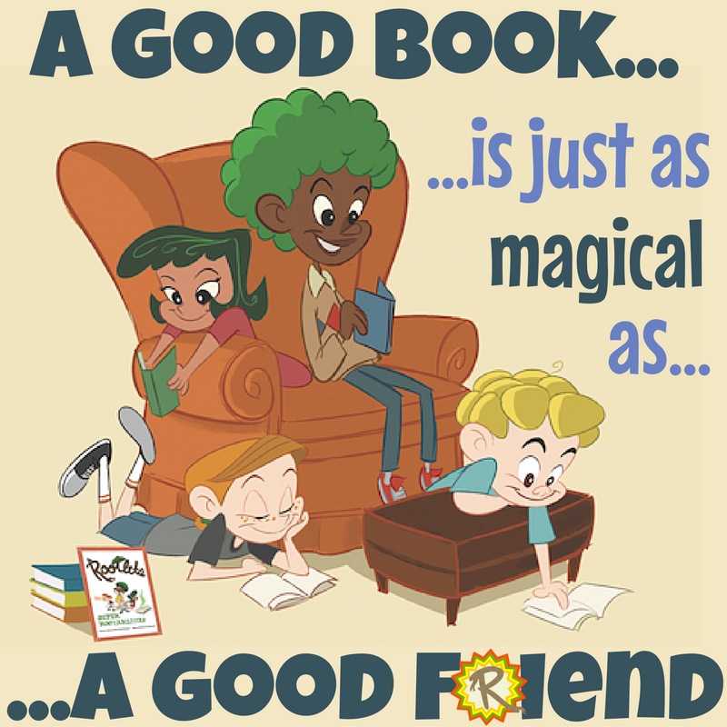 A Good Book Is Like A Good Friend