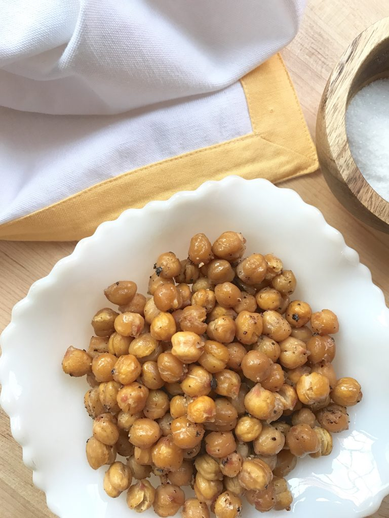 The Rootlets Snack - chickpea-crispies