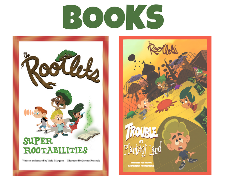 The Rootlets Books - Holiday Gift Ideas