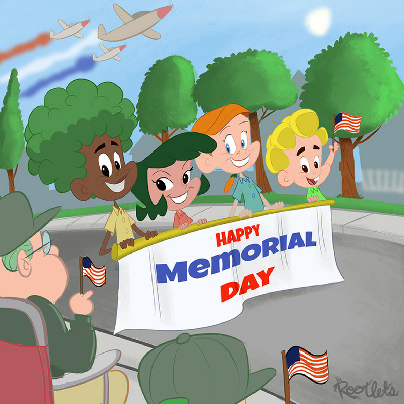 Happy Memorial Day The Rootlets