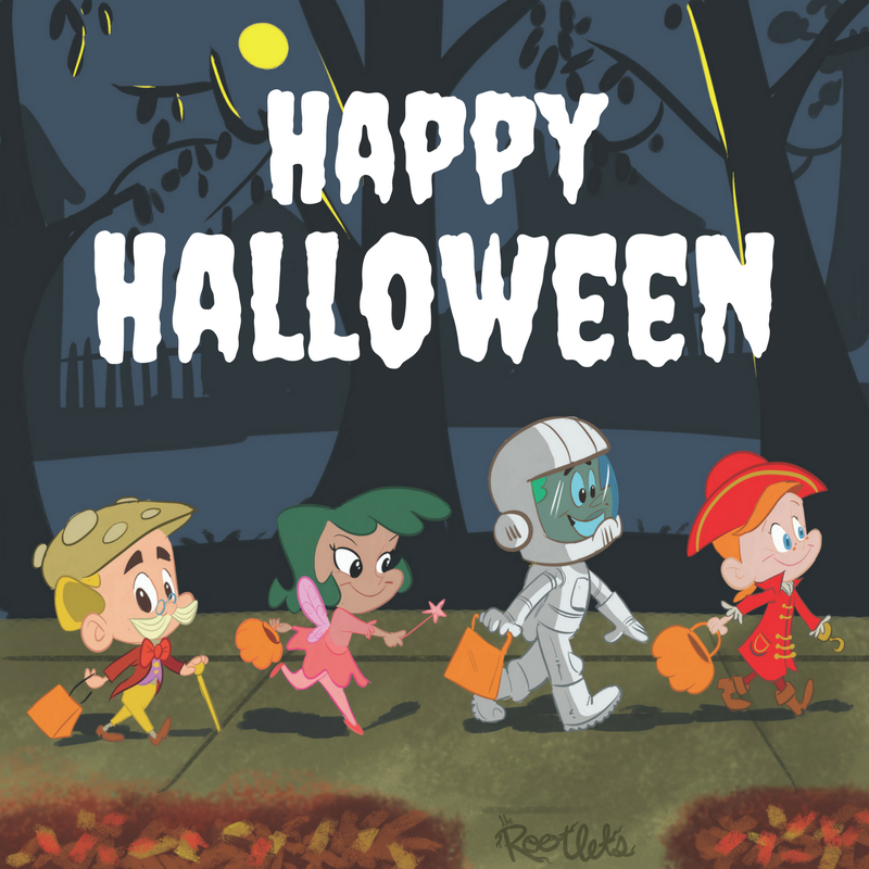Happy Halloween The Rootlets